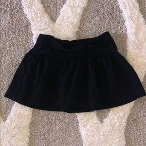 KATE SPADE girls toddler black twirl skirt